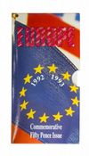 1992/3 50p Presidency of EC Council Brilliant Uncirculated Pack